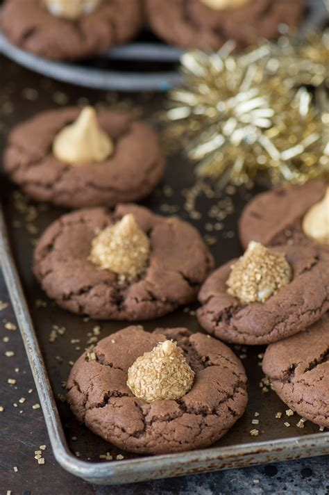new year chocolate cookies midnight cookies the year