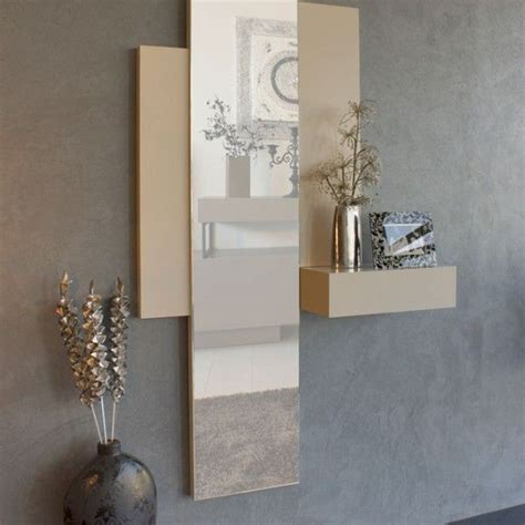 Modernes Wohnen Wohnzimmer 2956 by Recibidor De Dise 241 O Con Espejo Vertical Y Mesa C 243 Nsola