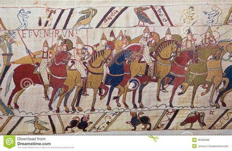 tappezzeria di bayeux tappezzeria di bayeux fotografia stock immagine di scena