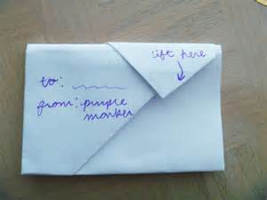 How To Fold A4 Paper Into An Envelope How To Fold A Note Into A Secretive Envelope Cute