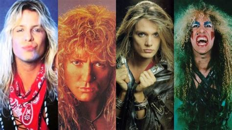 metal band hair styles wish you were hair a tribute to glam metal themusic com