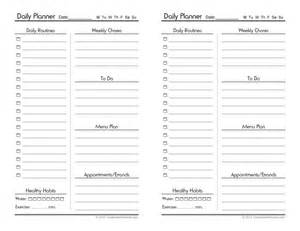Free Daily Planner Template by 40 Printable Daily Planner Templates Free Template Lab
