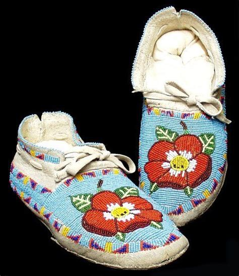 beautiful fully beaded moccasins moccasins