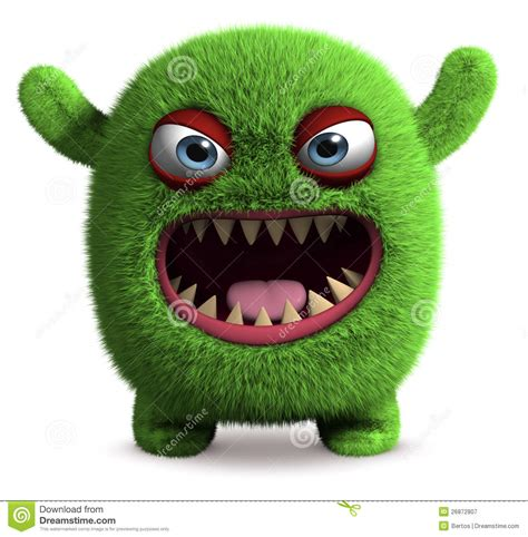 videos monster cute furry monster stock illustration illustration of