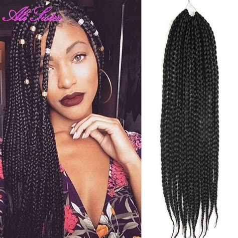 crochet braids with expression hair crochet braids box braids hair extension havana twist