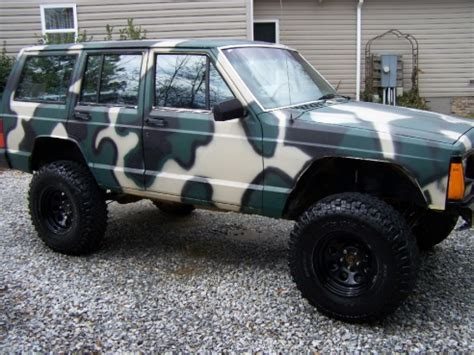 camo jeep cherokee project quot camo cash cow quot page 4 jeep cherokee forum