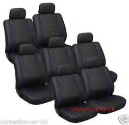 Car Seat Covers For Vw Sharan Vw Sharan 1995 To 2010 Black Blue Top Quality Car