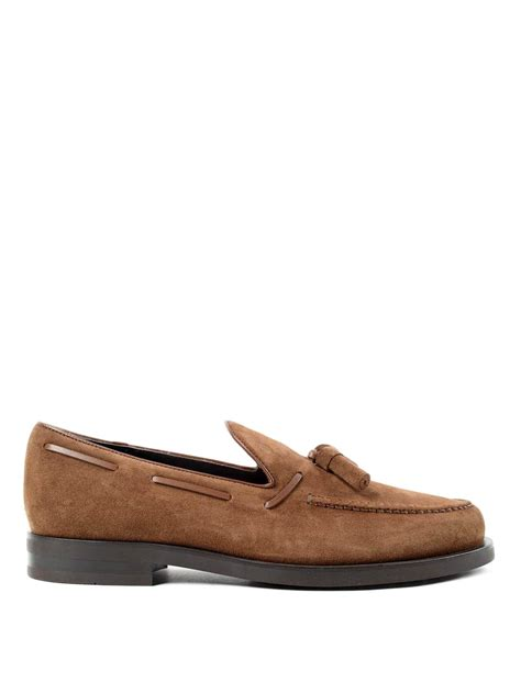 loafer laces laces detailed suede loafers by tod s loafers slippers