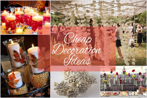Cheap Wedding Ideas by Cheap Wedding Decoration Ideas For Your Big Empty Space