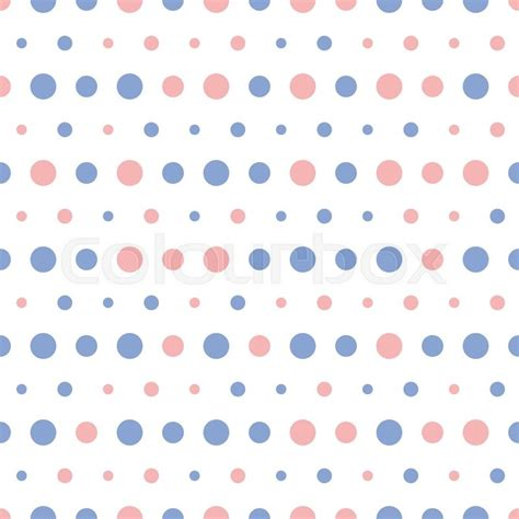 vector pattern matching vector pattern of big and small colorful pink and blue