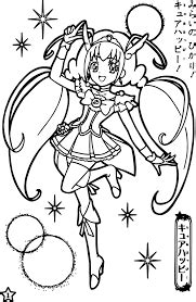 Glitter force Coloring Pages - Free Printable Coloring