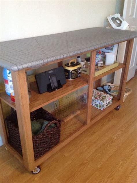 Cutting Table For Sewing Room by Diy Sewing Room All In One Cutting Table Ironing Board
