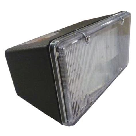 fluorescent flood lights outdoor aspects multi use wall mount 1 light outdoor black