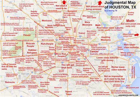 Judgmental Map Of Houston Tx By Jr Ewing 78 Jr Ewing 78