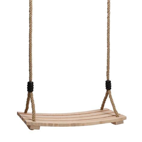 hanging swing wood hanging rope swing seat kid outdoor backyard