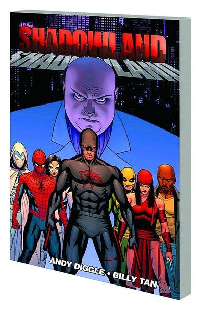 Komik Marvel Shadowland Thunderbolt comics