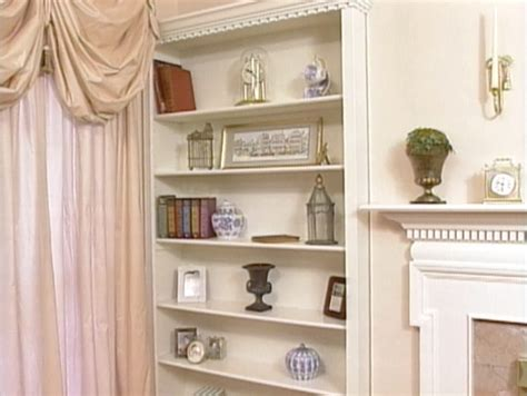 how to build a built in bookshelf how tos diy