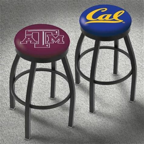 College Logo Bar Stools by Furnish Your Basement Or Bar With Our College Team Logo