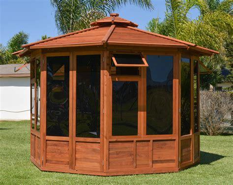 octagonal gazebo octagonal gazebo sunroom wood gazebo kit for sale