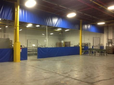 warehouse curtains what are the advantages of warehouse divider curtains