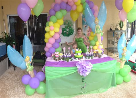 tinkerbell decorations ideas birthday party tinkerbelle share