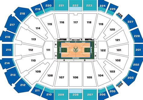 bucks seating chart bucks seating chart milwaukee bucks tickets 2017 2018