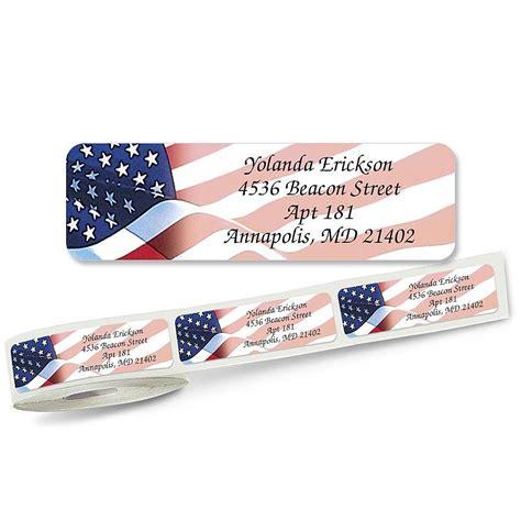 butterflies designer rolled return address labels flag designer rolled address labels current catalog