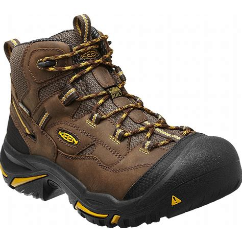 keen work boots for keen 1011242 braddock mid waterproof steel toe work boot