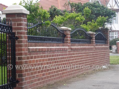 garden wall railings wall railings designs fortress tower wall fence