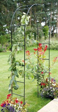 ideas for climbing rose supports garden obelisks umbrella giverny garden ornaments gardens