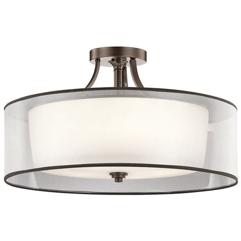 Lighting Kichler Kichler Lighting Semi Flushmount Light 42399miz Destination Lighting