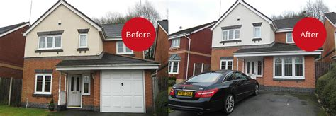 garage conversions before and after godley garage conversion granada home improvements