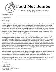 Food Donation Letter Template Best Photos Of Asking For Food Donations Food Donation