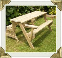 How To Make A Folding Picnic Table Bench by Folding Bench To Picnic Table Instructions Page 1