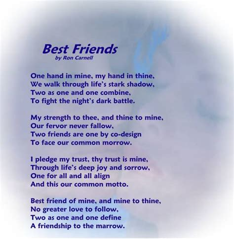 poems for my beautiful friendship poems for