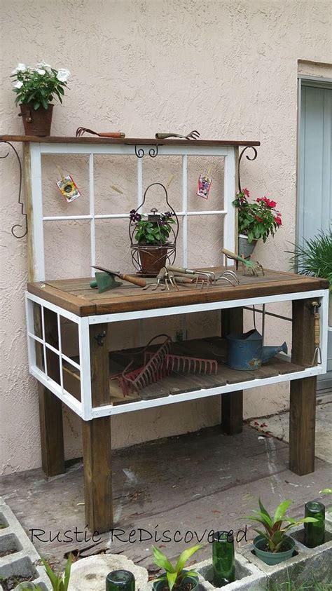 vintage potting bench vintage tool potting bench hometalk