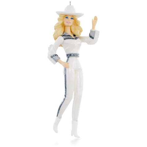 2015 hallmark gorgeous western star barbie hallmark