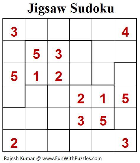 printable jigsaw sudoku puzzles free jigsaw sudoku puzzle mini sudoku series 102 fun with