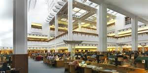library manuscripts reading room library building finally awarded grade i listed status daily mail