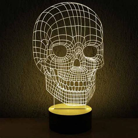 Modern Acrylic 3d Led Table Lamp 11966 Free Ship Browse