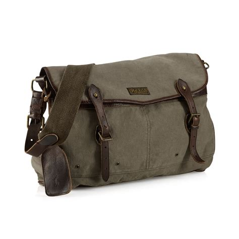 New Pauric Sweeney 08 Bags by Ralph Canvas New Messenger Bag In For