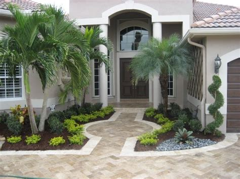 Florida Landscaping Ideas South Florida Landscaping Front Door Garden Design
