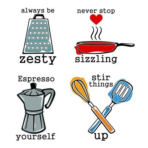 kitchen utensil design kitchen utensil sayings cuttable design