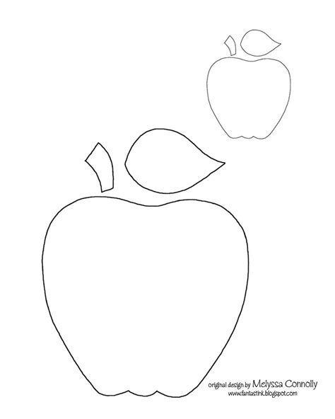 apple template templates pinterest apple template