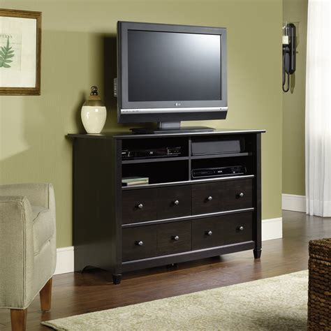 tall tv stand bedroom black laminated particle wood tall tv stand for bedroom