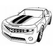 Desenho De Ve&237culo Camaro Para Colorir  Tudodesenhos