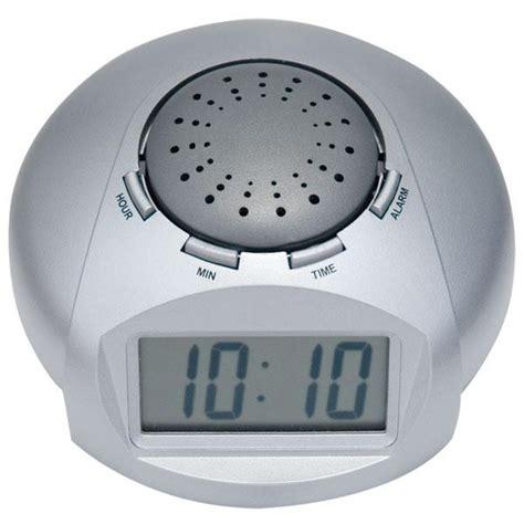 big lcd display talking alarm clock
