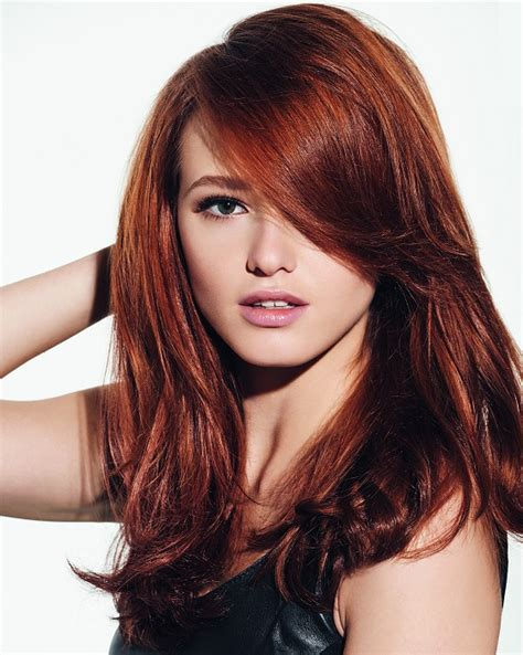 reddish brown hair color hottest dark red hair colors best hair color trends 2017