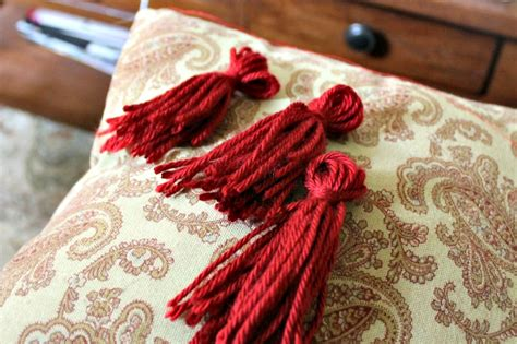 Tassels For Pillows by Diy Tassel Pillows