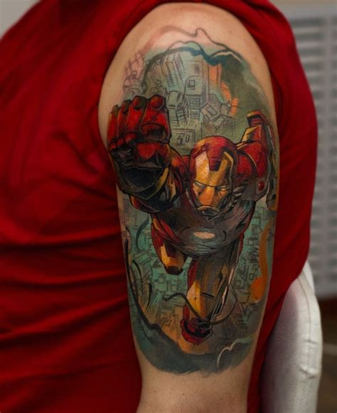 Kaos Ironman Disain Ironman 17 50 best ironman tattoos designs and ideas